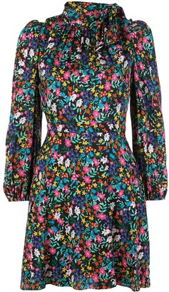 Milly Floral Ruffled Dress