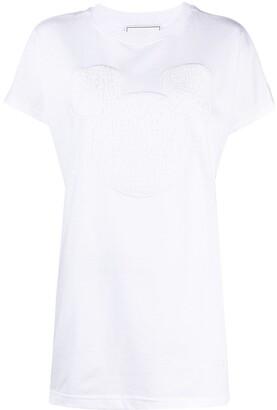 Iceberg embroidered-logo cotto T-shirt