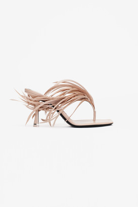 Alexander Wang Ivy Feather Sandal