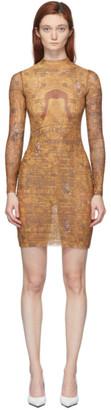 Misbhv Multicolor Goa Long Sleeve Dress