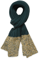 "Missoni Wool Ribbed Scarf, 70.5"" x 13.5"""