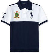 Ralph Lauren Childrenswear Colourblock Cotton Mesh Polo