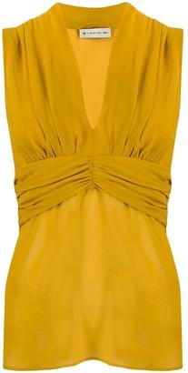Etro v-neck silk blouse
