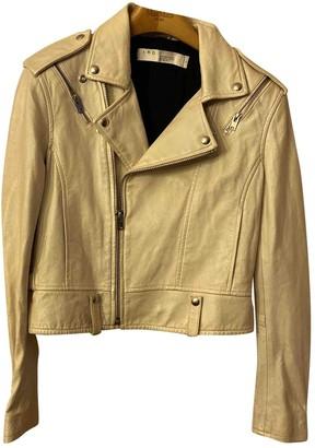 IRO Spring Summer 2019 White Leather Leather jackets
