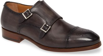 Magnanni Kenton Double Monk Strap Shoe