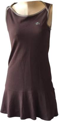 Lacoste Brown Cotton Dress for Women