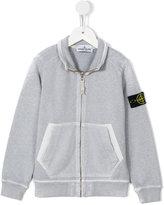 Stone Island Kids zipped jacket