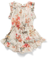 Zimmermann Mercer Floral Flip Dress