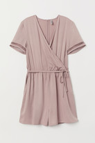 H&M Wrapover playsuit