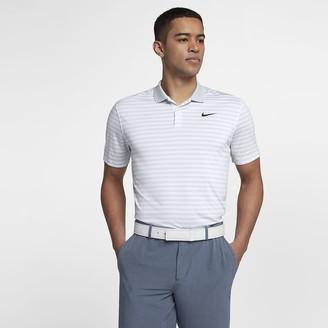 Nike Men's Striped Golf Polo Dri-FIT Victory