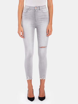 DL1961 Chrissy Crop Ultra High Rise Skinny Jeans