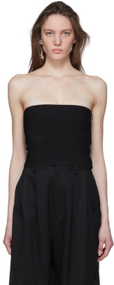 Ambush Black Knit Tube Top