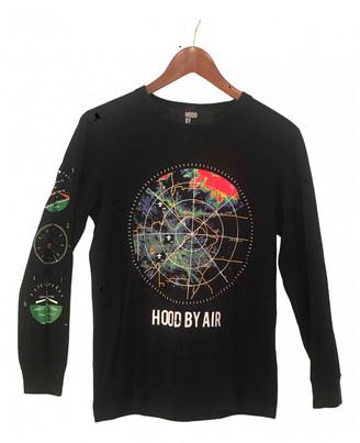Hood by Air Black Cotton Knitwear & Sweatshirts