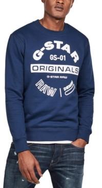 G Star Men's Logo Sweater, Created for Macy's