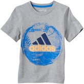 adidas Toddler Boy Spray Paint Sports Graphic Tee