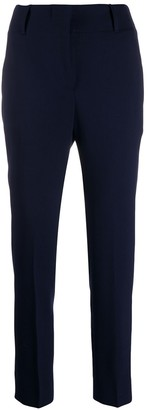 Incotex high-waisted slim-fit trousers