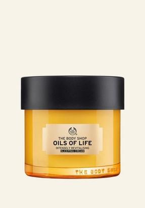 The Body Shop Oils Of Life Sleeping Cream