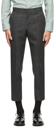 Solid Homme Grey Check Trousers