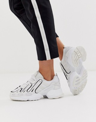 adidas EQT Gazelle sneakers in white