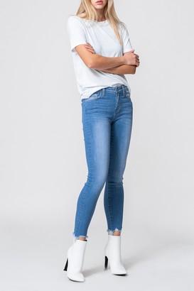 Vervet By Flying Monkey Laguna Cropped Skinny Jeans
