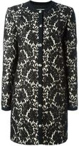 Fausto Puglisi layered lace coat