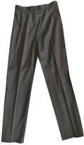 Christian Lacroix Blue Wool Trousers for Women Vintage