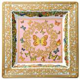 """Rosenthal Meets Versace Butterfly Garden 8.5"""" Square Tray"""