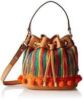 Milly Pom Sm Drawstring Cross Body Bag