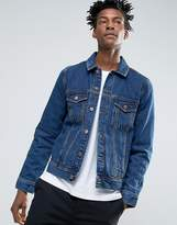 Dr. Denim Dwight Light Retro Denim Jacket