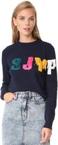 Sjyp Logo Fringe Pullover
