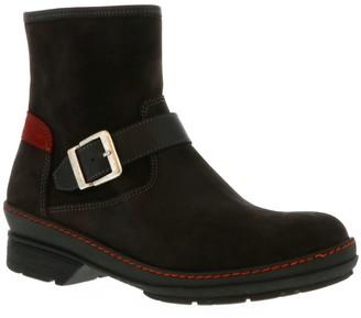 Wolky Side Zip Waterproof Suede Boots - Nitra WP