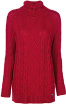 Woolrich chunky turtle neck jumper