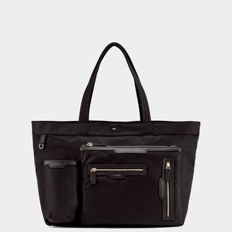 Anya Hindmarch Multi-Pocket Nylon Tote