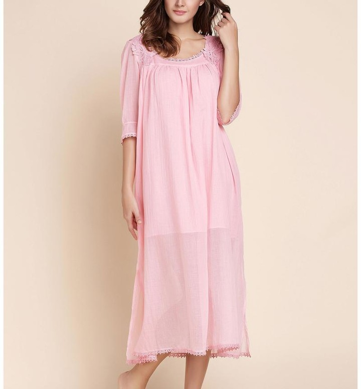 Black Label Cheryl Midi Nightgown