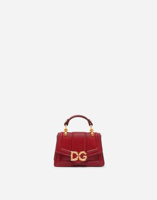 Dolce & Gabbana Amore Micro Bag In Smooth Calfskin