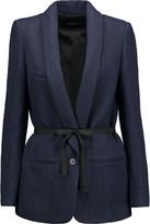 Isabel Marant Haylee linen and wool-blend gabardine jacket