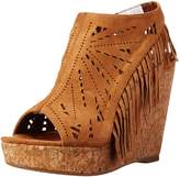 Not Rated Women's Fringe Delight Wedge Sandal