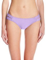 Pilyq Women's Orchid Strappy Madrid Full Bikini Bottom