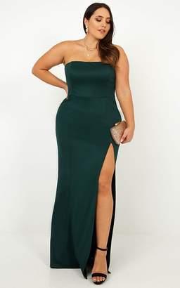 Showpo Look Sharp Dress in Emerald - 20 (XXXXL) Dresses