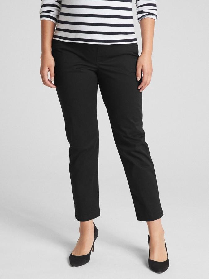 88df65e308aa1 Gap Black Ankle Pants - ShopStyle