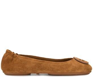 Tory Burch foldable Minnie ballerina shoes