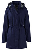 Classic Women's Petite Transitional Spring Coat-Midnight Indigo