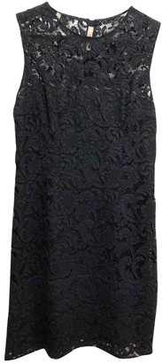 Prada Navy Lace Dresses
