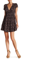 Free People Oh Baby Printed Mini Dress