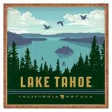 DENY Designs Anderson Design Group Lake Tahoe Square Tray - Green