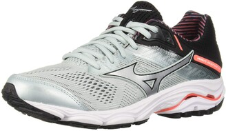 Mizuno Women's Wave Inspire 15 Running Shoe sky gray-silver 7 W US