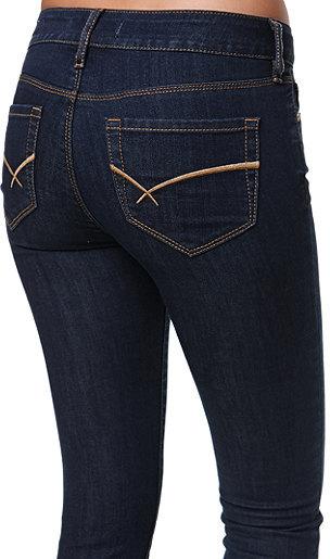 Bullhead Black Kape Indigo Slim Boot Jeans