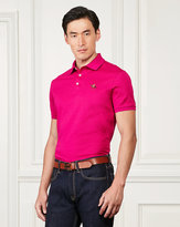 Ralph Lauren Custom-fit Piqué Polo Shirt
