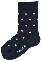 Falke Navy Polka Dot Baby Ankle Socks