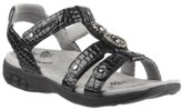 Therafit Shoe Charlotte Embossed Jeweled Adjustable Sandal Women's Shoes